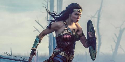 "8. Gal Gadot as Diana Prince/Wonder Woman in ""Wonder Woman"" (2017)"