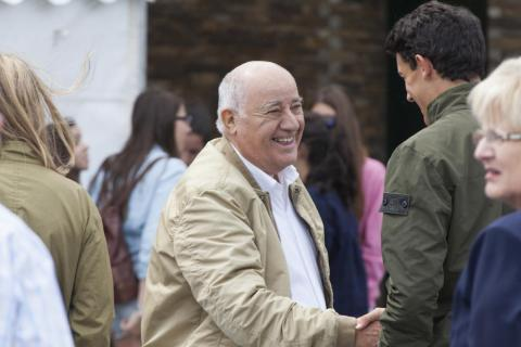 Amancio Ortega is the sixth-richest person in the world, with an estimated net worth of $67.9 billion.