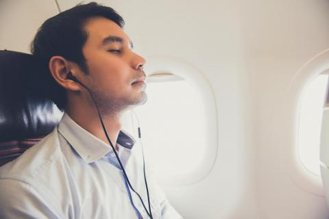 9. Earbuds or noise-cancelling headphones