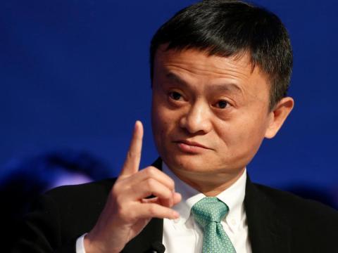 9. Jack Ma, executive chairman of Alibaba Group. Net worth: £28.9 billion ($39.2 billion). Alibaba is China's biggest e-commerce company.