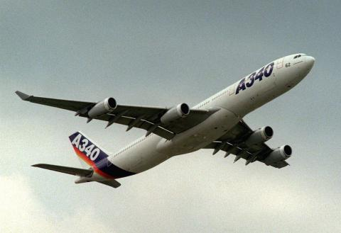 A340 de cuatro motores