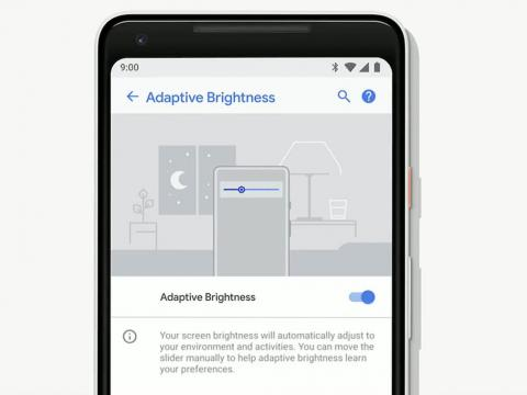 Adaptive Brightness will go one step further than simply adjusting your screen's brightness based on your surroundings.
