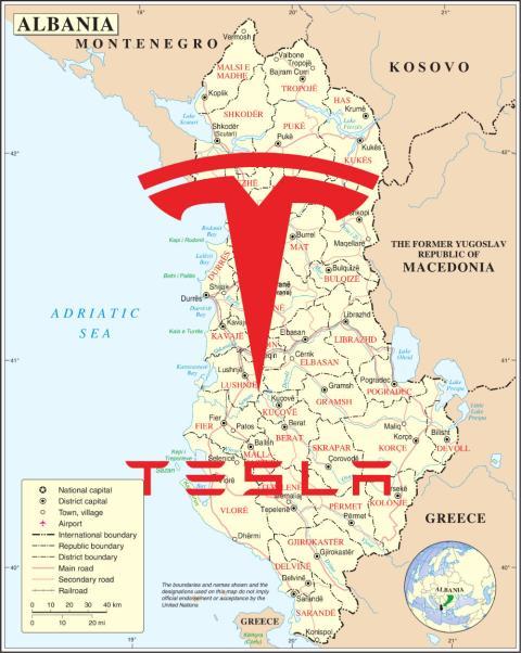 Albania Tesla