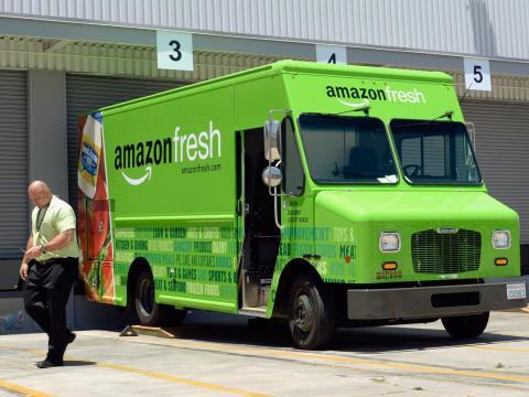 Amazon Fresh está dejando de vender productos de proveedores de terceros.