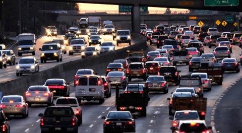 Los Ángeles tráfico