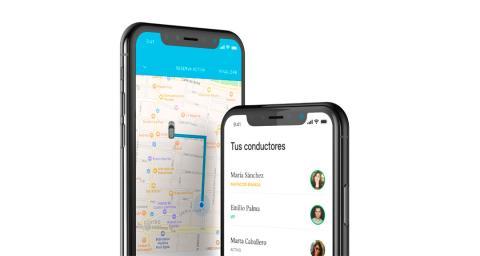La aplicación de Mini Sharing en el iPhone