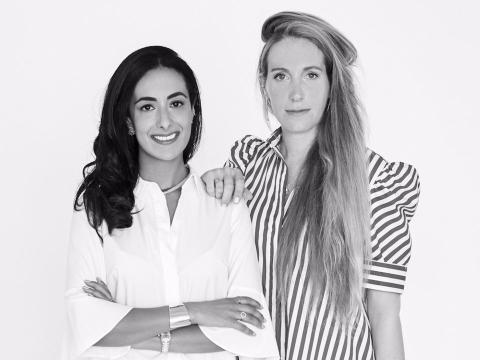 Bouchra Ezzahraoui y Sophie Kahn son las fundadoras de AUrate New York.