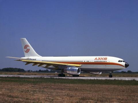 El avión A300B