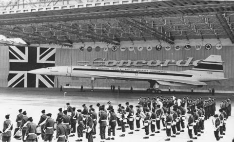 Avión Concorde