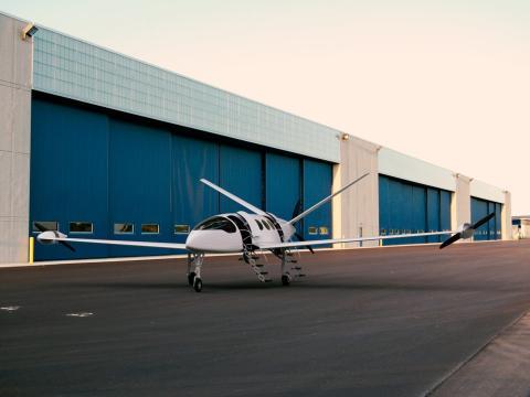 El avión eléctrico Alice Commuter de la startup israelí Eviation.