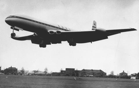 Avión Havilland Comet