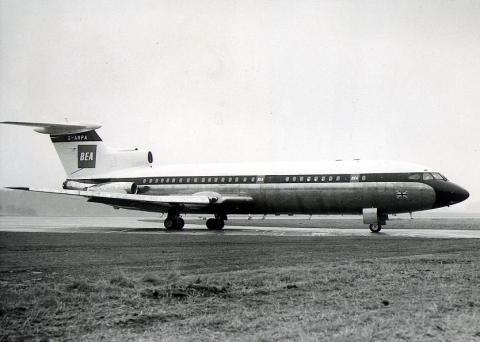 Avión Hawker Siddeley Trident