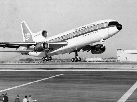 El avión Lockheed L-1011 TriStar