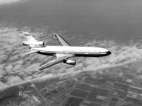 El avión McDonnell Douglas DC-10