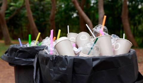 Basura de plástico