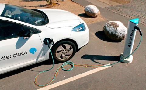 Batería better place coche eléctrico