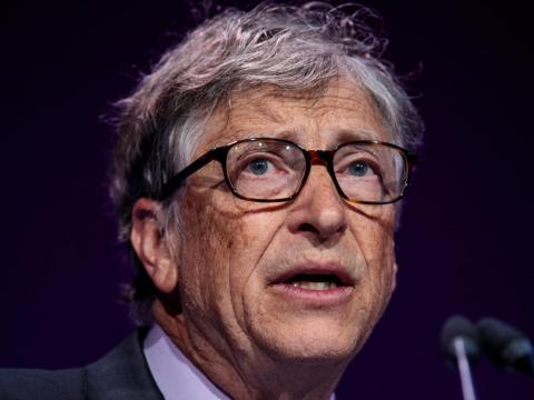 2. Bill Gates, cofounder of Microsoft. Net worth: £66.7 billion ($90.5 billion). Gates now focuses on philanthropy through the Bill & Melinda Gates Foundation.