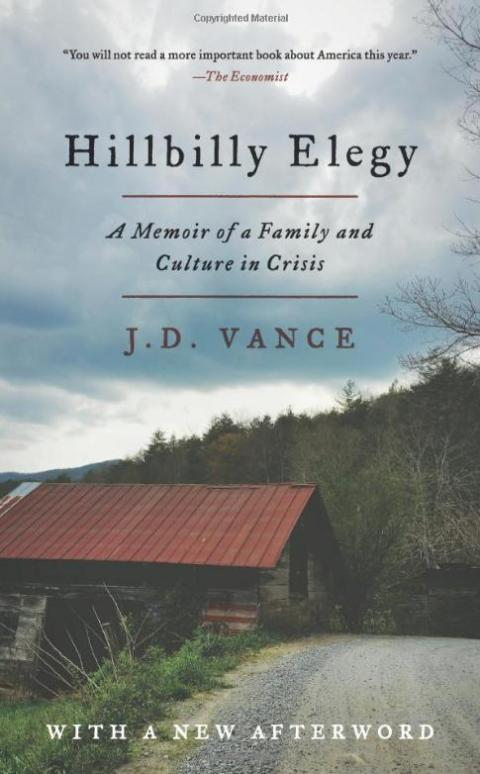 """Hillbilly Elegy"" by J.D. Vance"