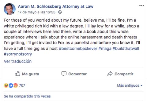 Captura de facebook