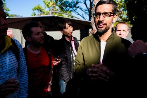 El CEO de Apple, Sundar Pichai.