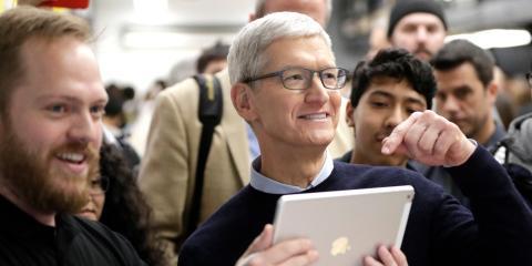 El CEO de Apple, Tim Cook