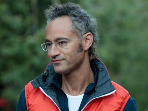 El CEO de Palantir Alex Karp.