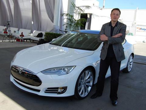 Wozniak es un gran fan de Tesla.