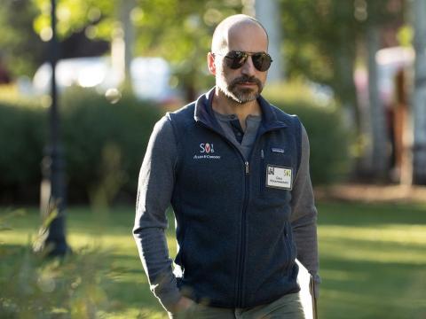 El CEO de Uber, Dara Khosrowshahi.