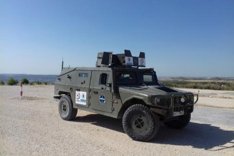 coche autónomo del ejército español