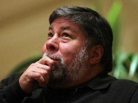 El cofundador de Apple Steve Wozniak.