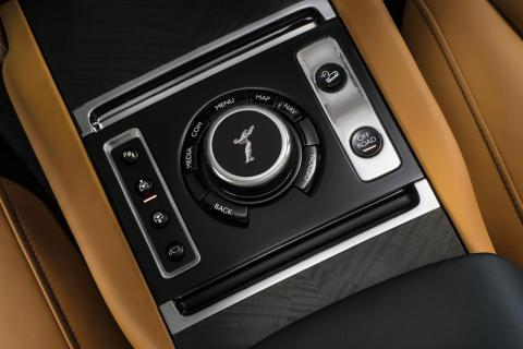 The Cullinan is loaded with tech, including active cruise control, night vision, a high-resolution head-up display, and multi-camera surround-view system.
