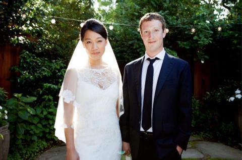 El día después de la salida a bolsa, Zuckerberg de alguna manera encontró un momento para casarse.