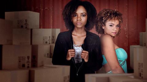 Fotograma de 'Deidra y Laney asaltan un tren', una película original de Netflix.