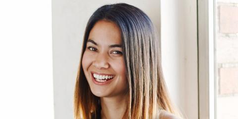 La directora general de Canva, Melanie Perkins. Canva