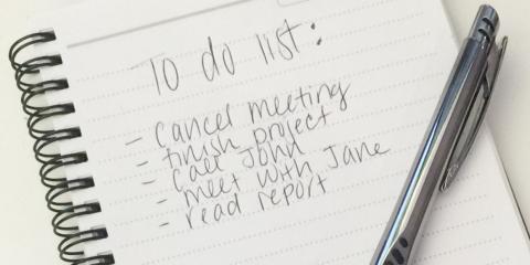 No te impongas demasiadas tareas
