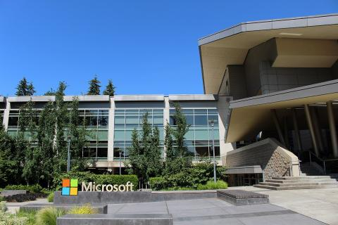 Edificio de visitas de Microsoft