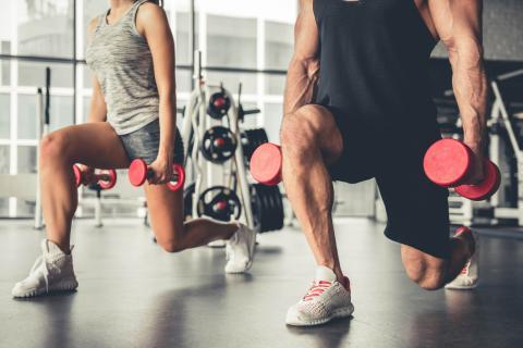 Ejercicio y deporte en el gimnasio