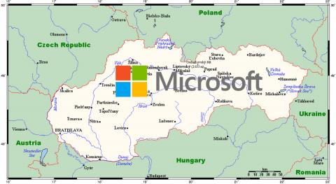 Eslovaquia Microsoft