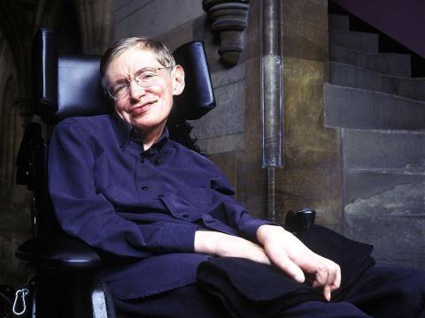 El físico inglés Stephen Hawking