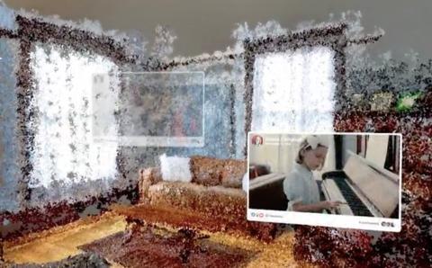 Presentación de la función de Facebook que transforma fotos antiguas en realidad virtual.