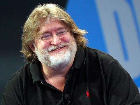 El fundador de Valve, Gabe Newell