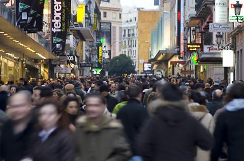 Nombres más comunes en España