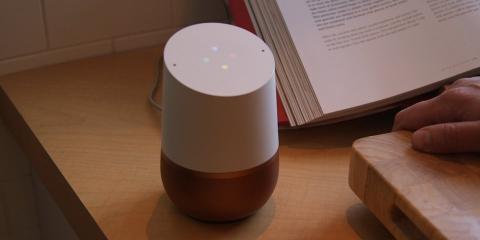 Google Home Cocina