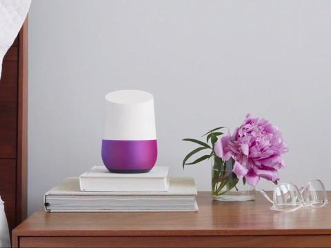 Google Home Morado
