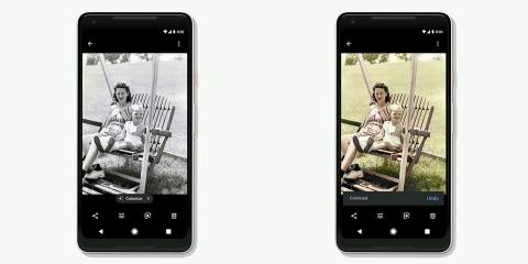 Google Photos blanco y negro