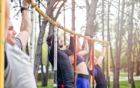 Hacer ejercicio y deporte