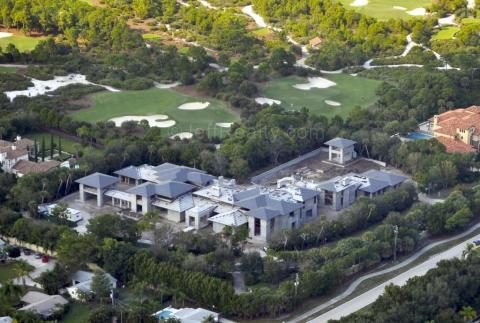Se gastó 12,8 millones de dólares en construir la casa de sus sueños en Florida [RE]
