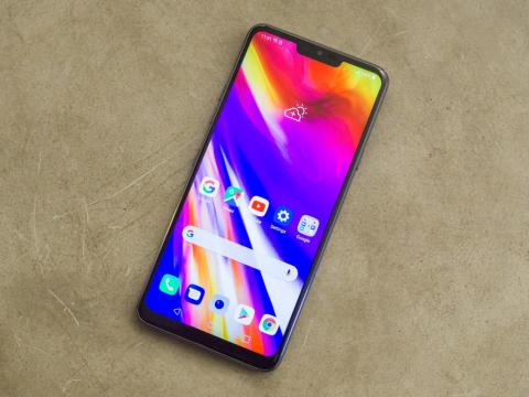 Here it is, folks: The LG G7.