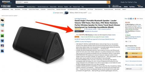 Here's what it means when an item is marked 'Amazon's Choice'