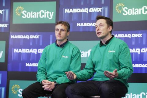 As if that wasn't enough, Musk came up with the idea for SolarCity, a solar energy company.